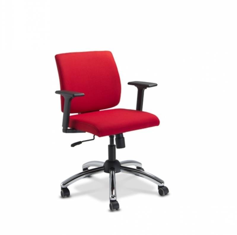 Cadeira Diretor Giratória em Barueri - Cadeiras Diretor Vermelha