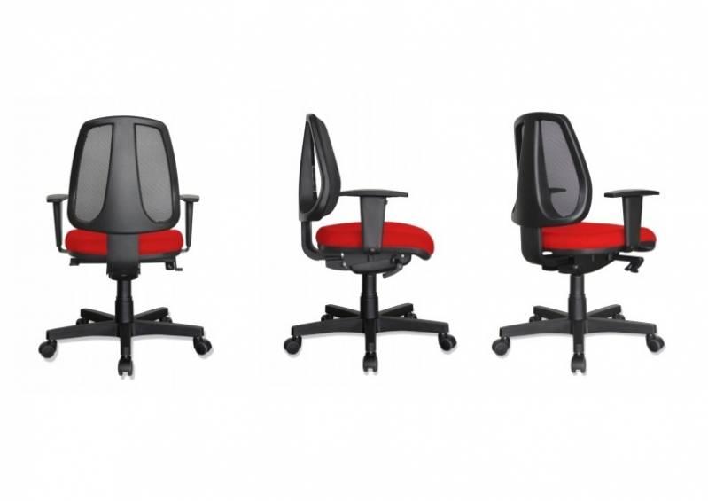 c9ff18392 Cadeira para Escritório Giratória Simples - Moby One Mobiliário