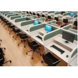 baias de atendimento para call center em Arujá