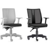cadeira escritório branca orçar Poá