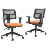 cadeira para escritório de rodinhas preço em Jandira