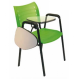 cadeira universitária com braço dobrável preço em Itaquaquecetuba