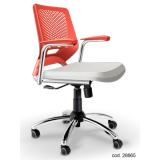cadeiras de escritório brancas Suzano