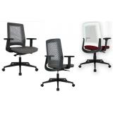 cadeiras de escritório giratórias São Bernardo do Campo