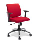 cadeira diretor base cromada