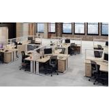 comprar conjunto móveis para escritório Suzano