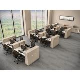 conjunto móveis escritório Barueri