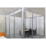 divisórias para escritório de vidro preço em Guarulhos