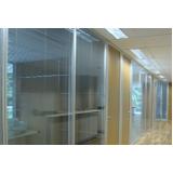 divisórias de vidro para escritório sp