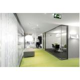 divisórias para escritório de vidro