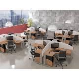 loja de mesa para escritório com divisórias em Cotia