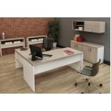 mesa escritório branca melhor preço Ribeirão Pires