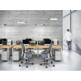 mesa para escritório com gaveta melhor preço Barueri