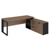 mesa para escritório l melhor preço Suzano
