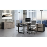mesas escritório pretas Diadema