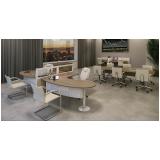 mesas para escritórios com divisórias em Jandira
