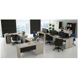 mobília de escritório pequeno Arujá