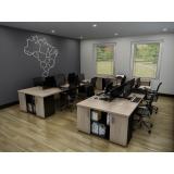 conjunto móveis para escritório