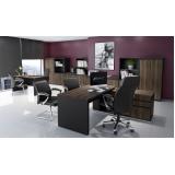 móveis para escritório preto