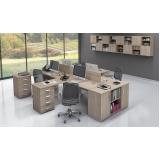 onde encontro mesa de escritório com gaveta Alphaville