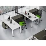 onde encontro mesa para escritório com gaveta Alphaville