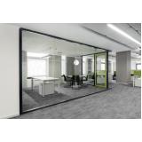 quanto custa divisória para escritório em vidro em Jundiaí
