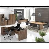 quanto custa mesa para escritório com armário em Alphaville