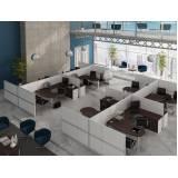 quanto custa mesa para escritório com divisórias em Cotia