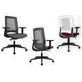 venda de cadeira de escritório branca Jandira