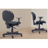 venda de cadeira escritório giratória Santo André