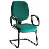 venda de cadeira fixa para escritório Cajamar